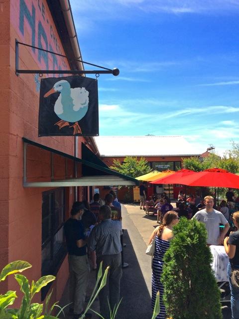 White Duck Taco- River Arts District patio 2