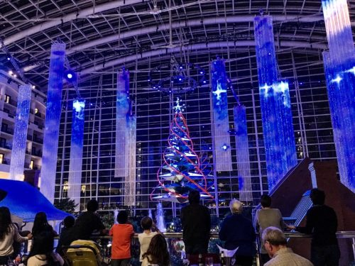 Holidays at the National Harbor- Gaylord Christmas show